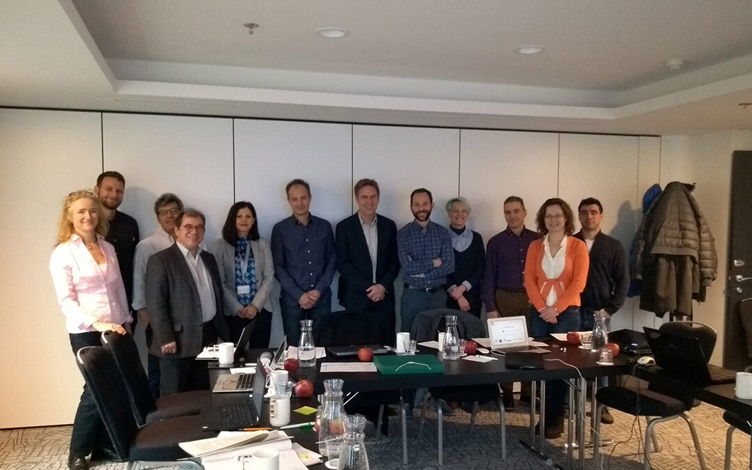 """""""MAIL"""" Kick-off meeting in Brussels"""